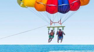 parasailing split