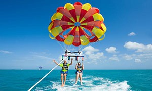 parasailing tour in split